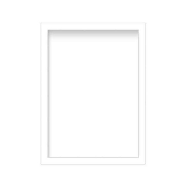 Standard Sizes Photo Frames – White